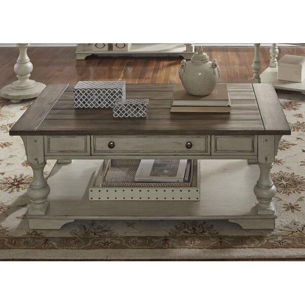 Wrightsville Coffee Table by Rosecliff Heights