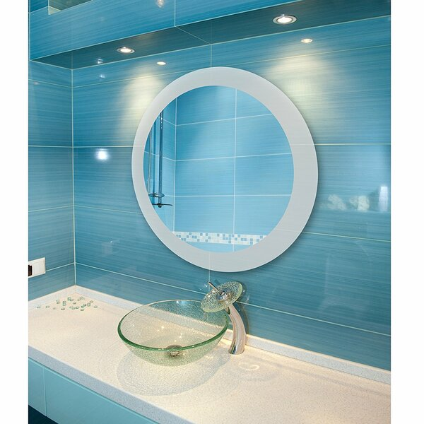 Overman LED Wall Mirror by Wrought Studio