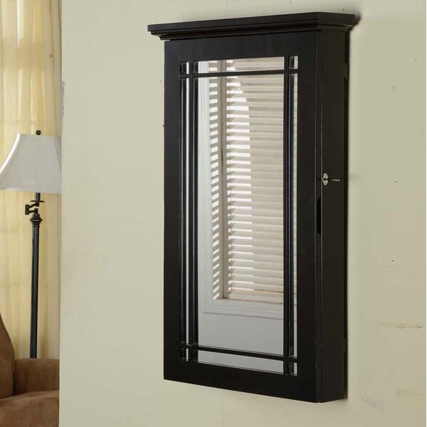 Border Wall Mounted Jewelry Armoire by Wildon Home ®