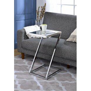 Kloss Modern Metal End Table