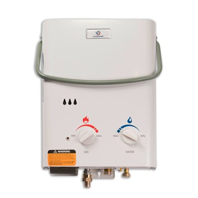 eccotemp 15 gpm portable liquid propane tankless water heater and flojet pump