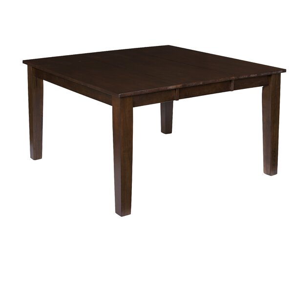 Upshaw Extendable Solid Wood Dining Table by Gracie Oaks