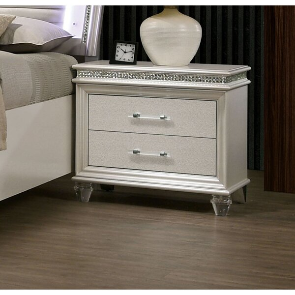 Serio 2 Drawer Nightstand by Everly Quinn Everly Quinn