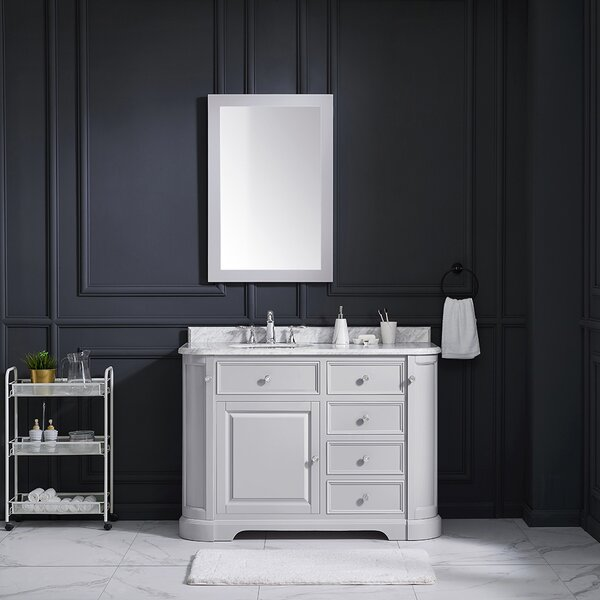 Diana 48 Single Bathroom Vanity Set by Ove Decors