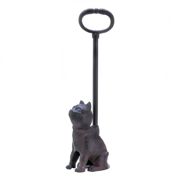 Cat Iron Floor Stop by Zingz & Thingz