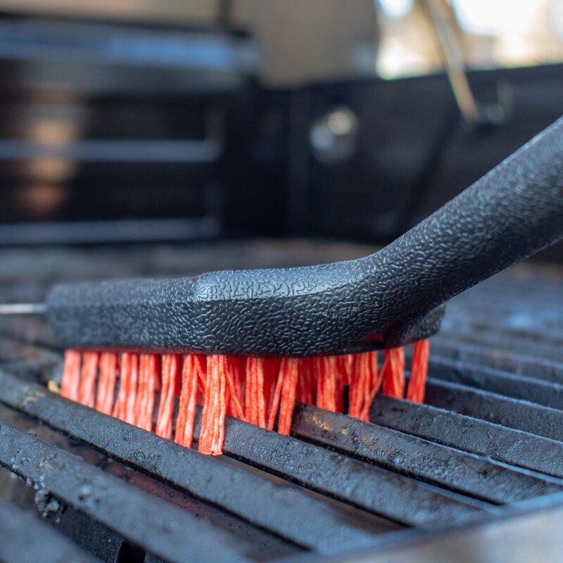 ghdonat.com Black FLASHPOINT 8100-011 Nylon Grill Brush Cleaning ...