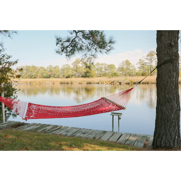 Blenheim Polyester Double Spreader Bar Hammock by Bay Isle Home