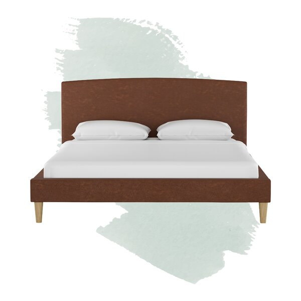 Upholstered Platform Bed by Foundstone
