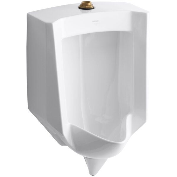 Stanwell Blow-Out Wall-Mount 1 GPF Urinal with Top Spud by Kohler