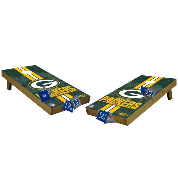 NFL Cornhole Set by Tailgate Toss