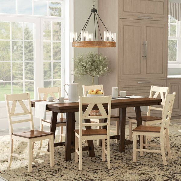 Castleford 7 Piece Dining Set by August Grove