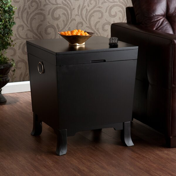 Morrison End Table With Storage by Alcott Hill