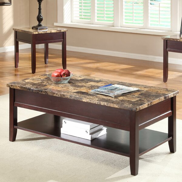 Orton Coffee Table with Lift Top by Woodhaven Hill