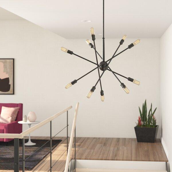 Kira 10 - Light Sputnik Sphere Chandelier by Foundstone Foundstone