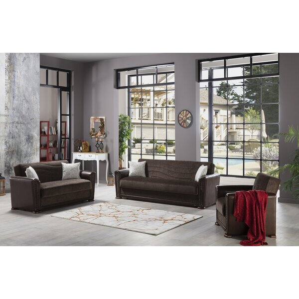 Gyrth 3 Piece Sleeper Living Room Set By Red Barrel Studio