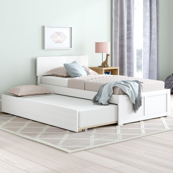 Wasilewski Platform Bed with Trundle by Viv + Rae