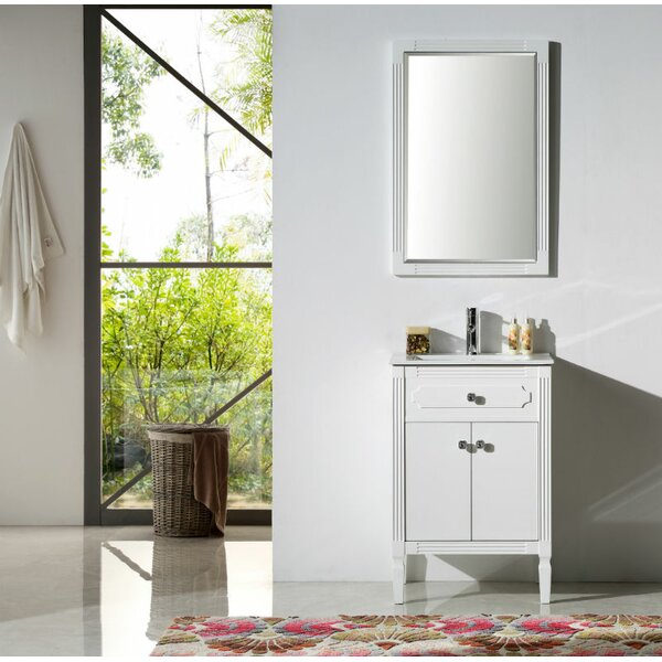 Humnoke 24 Bathroom Vanity Set by Charlton Home