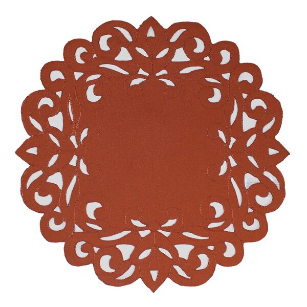 Southampton Scroll Placemat by Homewear Linens