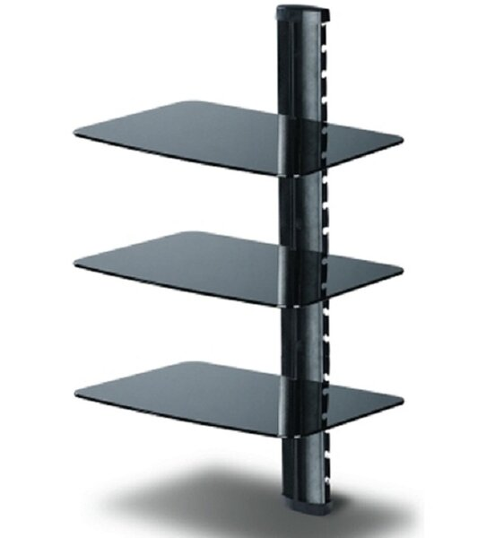 TygerClaw Triple Layer DVD Shelf by Homevision Technology