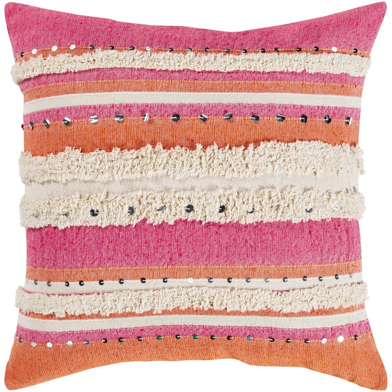 Bungalow Rose Stayton Throw Pillow In No Fill Reviews Wayfair