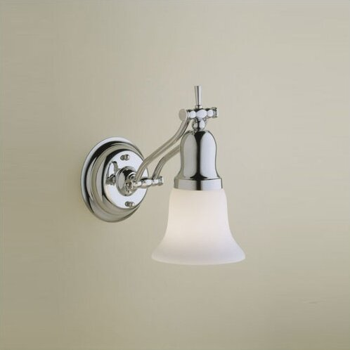 Fairhaven 1-Light Armed Sconce by Robern