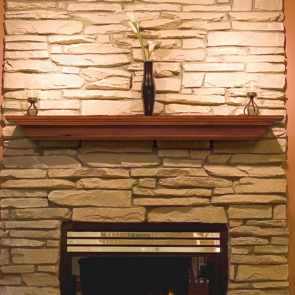 The Homestead Fireplace Shelf Mantel By Pearl Mantels