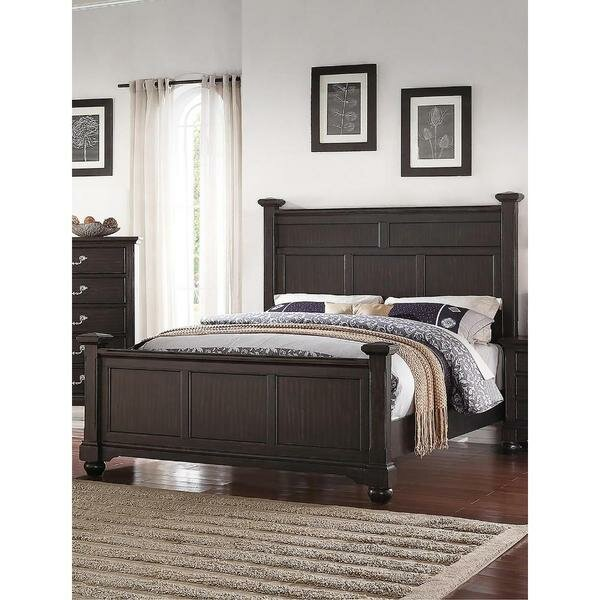 Seagraves Wooden Upholstered Standard Bed by Gracie Oaks