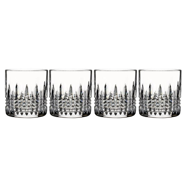 Lismore Diamond 7 oz. Crystal Cocktail Glass (Set of 4) by Waterford