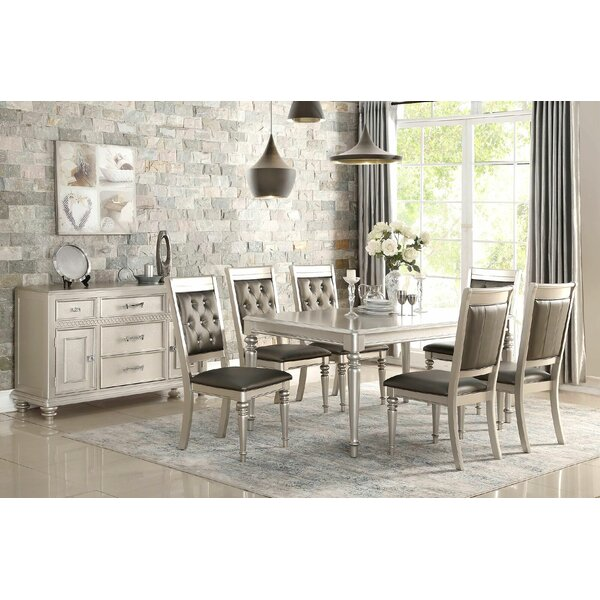 Charmant Rosdorf Park Blumer Silver 7 Piece Dining Set U0026 Reviews | Wayfair