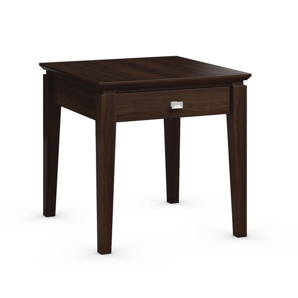 Windward End Table with Power Station by Caravel