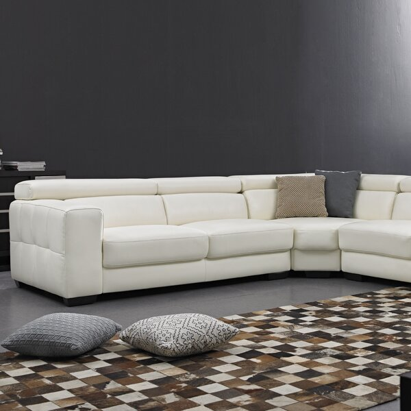Leather Sectional by David Divani Designs