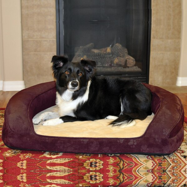 Deluxe Ortho Sleeper Bolster Dog Bed by K&H Manufacturing
