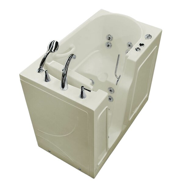 Prairie Thermalpeutic Heated 46 x 26 Walk In Whirlpool Bathtub by Therapeutic Tubs