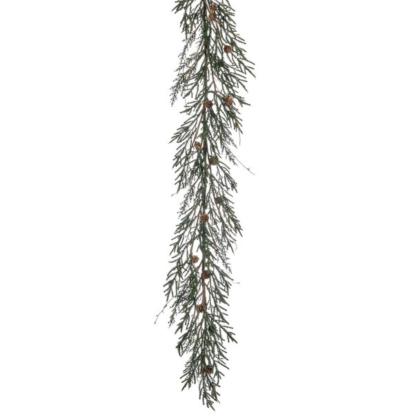 Pine with Cone Garland by The Holiday Aisle