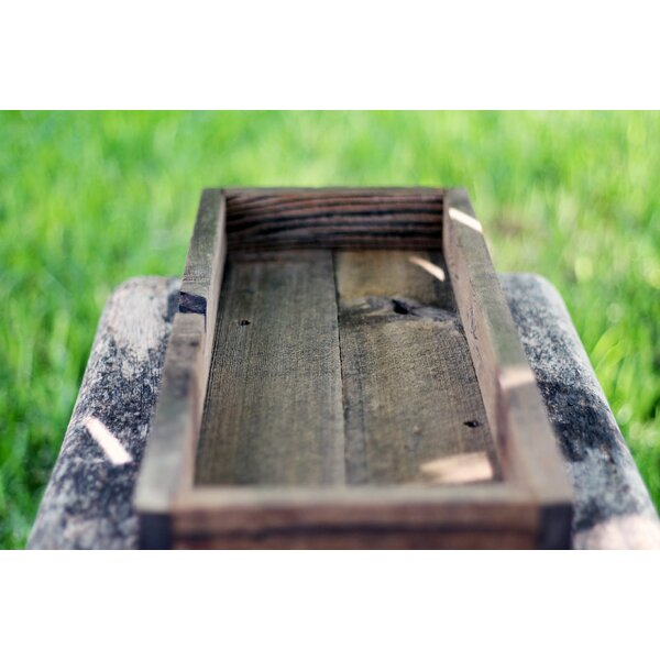 Ruppert Wood Planter Box by Loon Peak