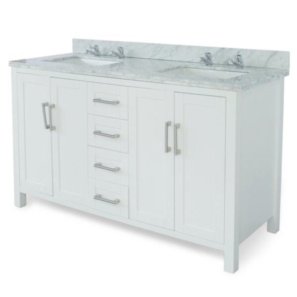 Hodgeman 60 Double Vanity Set by Latitude Run