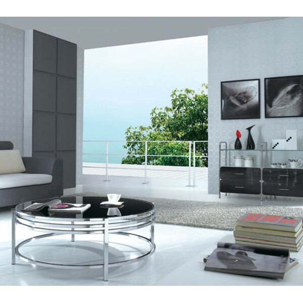 Clower Coffee Table with Top by Orren Ellis
