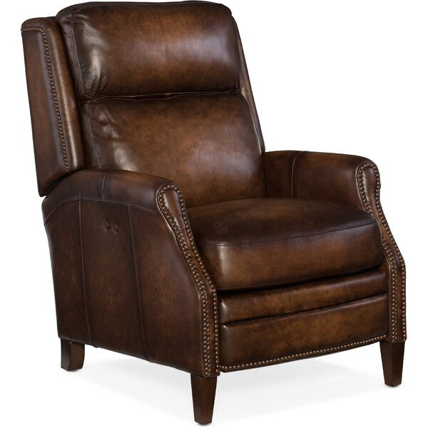 Zephyr Leather Power Recliner by Hooker Furniture