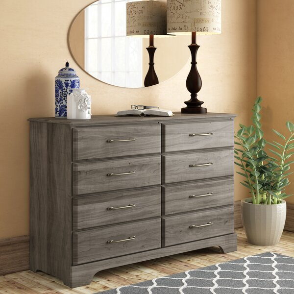 Ciara 8 Drawer Double Dresser by Grovelane Teen
