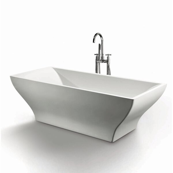 Ash 70 x 31.5 Soaking Bathtub by Jade Bath