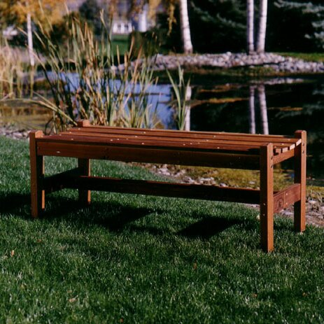 Park Bench by Wood Country