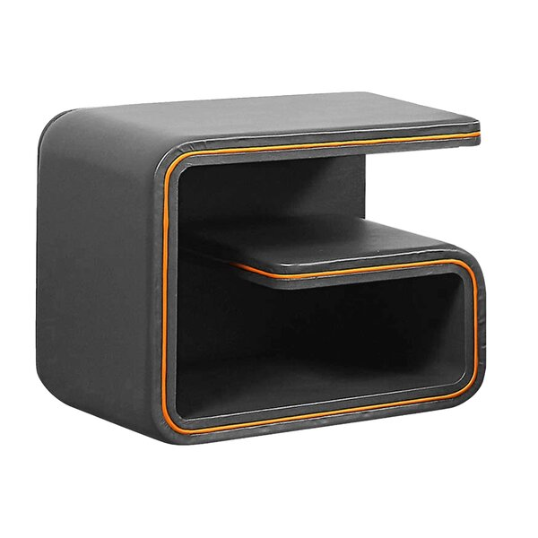 Minjares Upholstered Nightstand by Orren Ellis