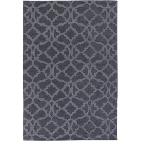 Dylan Handmade Blue Area Rug by Charlton Home