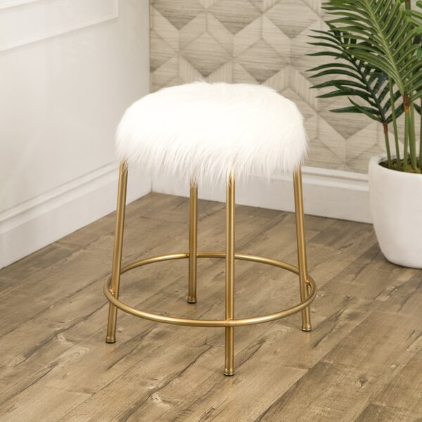 Milana Accent Stool by Mercer41