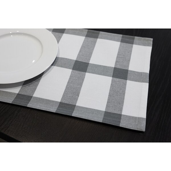 Check Reversible Placemat (Set of 4) by Flato Home Products