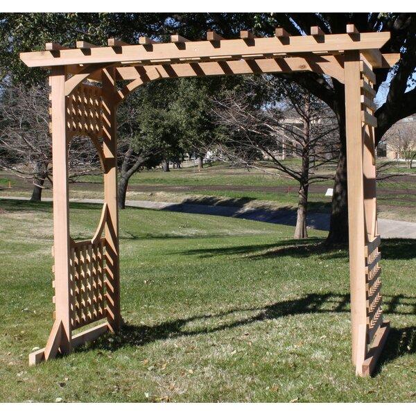 Colonial Cedar Wood Arbor by Threeman Products