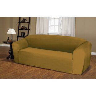 Jersey Box Cushion Sofa Slipcover