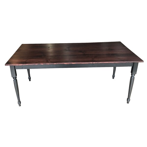 French Countryside Solid Wood Dining Table by Ezekiel and Stearns