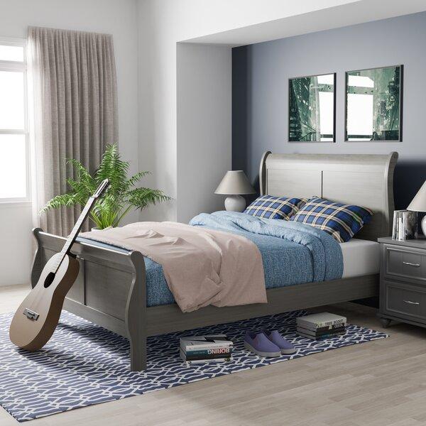 Machias Sleigh Bed Charlton Home CHRL7792