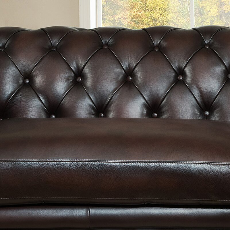Amax Bakersfield Leather Modular Sectional & Reviews